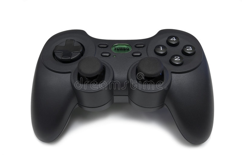 Download Contrôleur de jeu vidéo photo stock. Image du blanc, vidéo - 730610