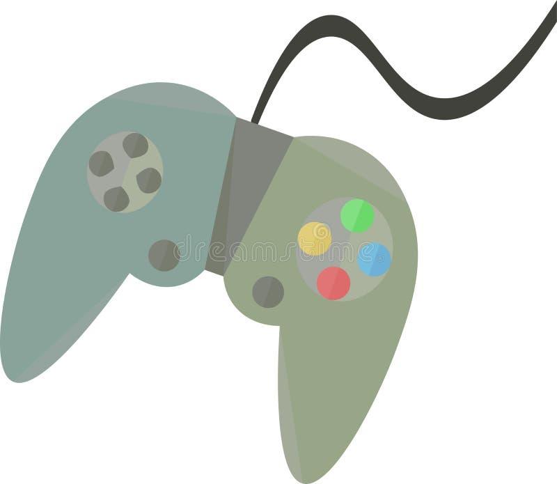 Contrôleur Vector Clip Art Design de jeu illustration stock