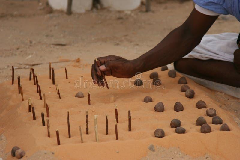contrôleurs de l'Afrique photographie stock libre de droits