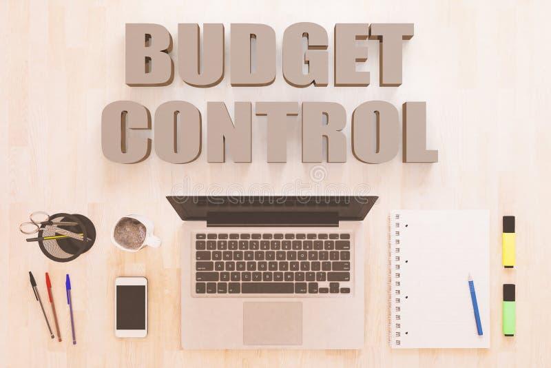 Contr?le de budget illustration libre de droits