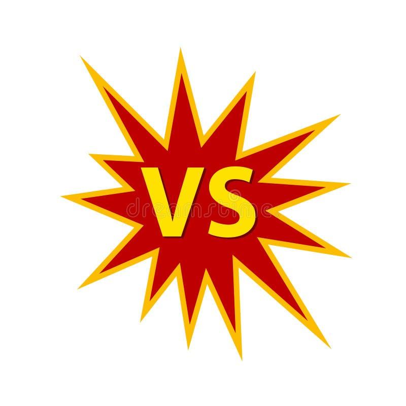 CONTRA, competição, campeonato, desafio ilustração stock
