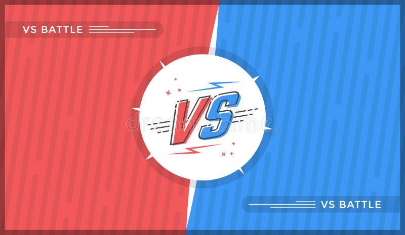 Contra o projeto de tela ilustração do vetor