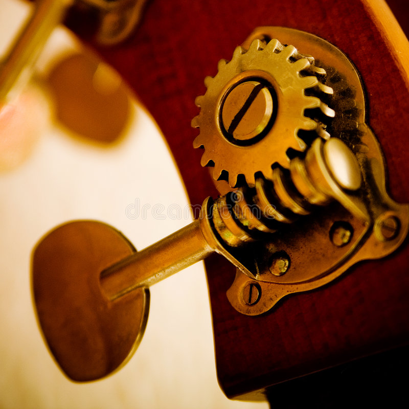Contrabass. Detail of a contrabass instrument royalty free stock photos