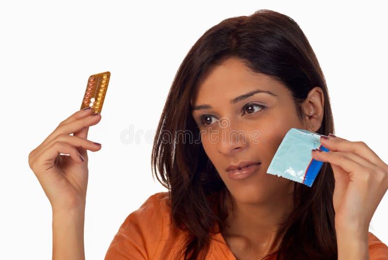 Contraception photographie stock libre de droits