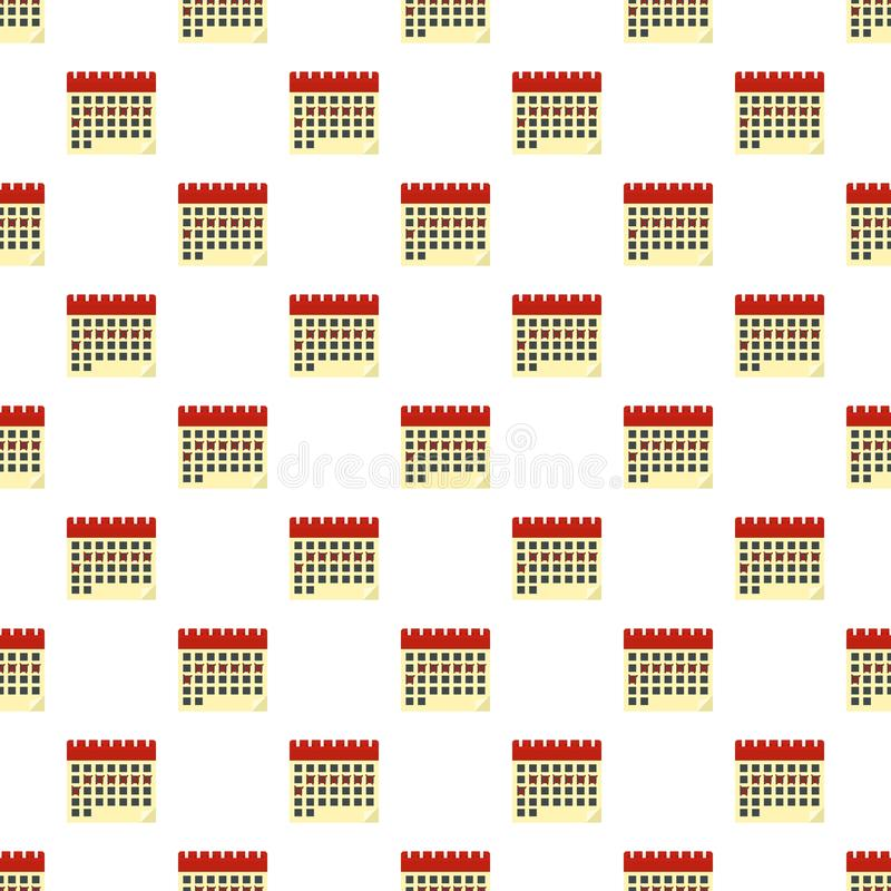 Contraceptive calendar pattern seamless vector. Repeat for any web design royalty free illustration