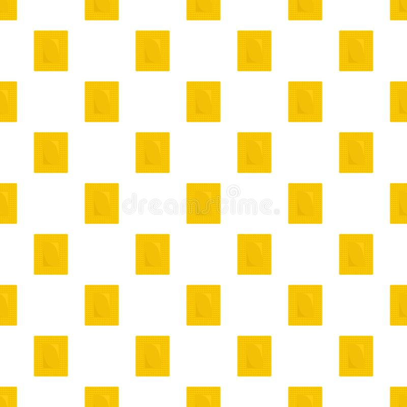 Contraceptive patch pattern seamless vector. Repeat for any web design stock illustration