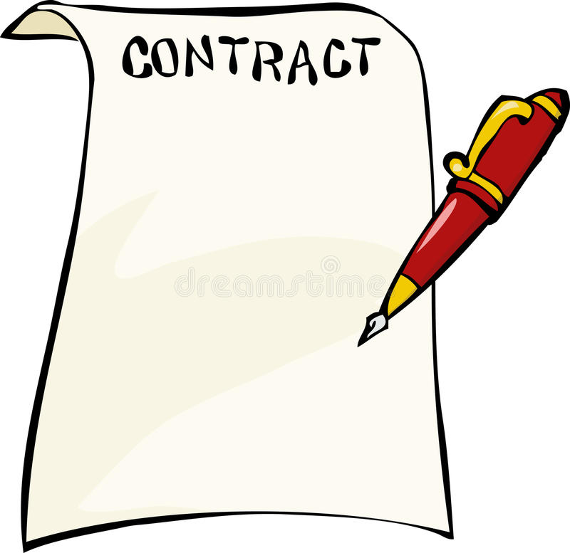 Download Contract Stock Image - Image: 29132751