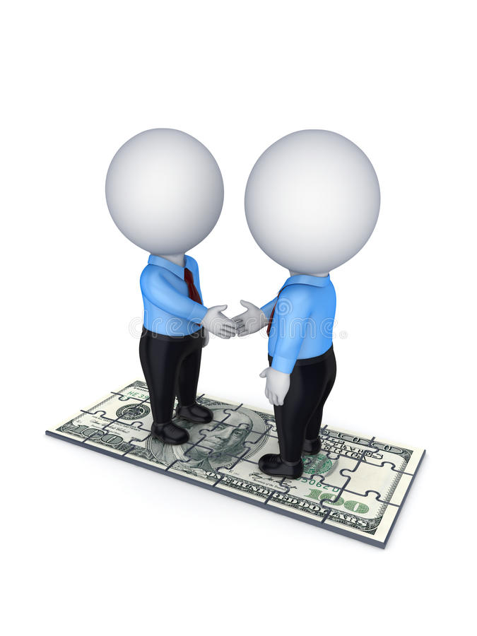 Download Contract concept. stock illustration. Image of cash, partner - 26928999