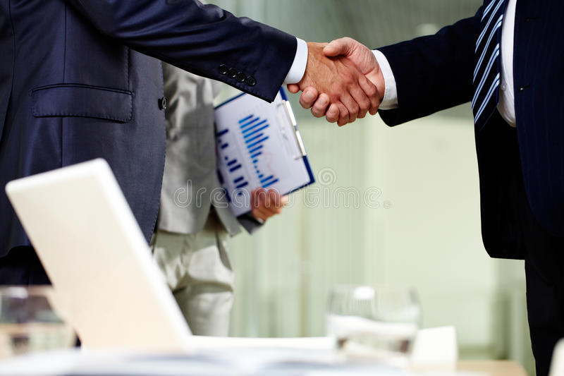 Download Contract of cooperation stock image. Image of agreement - 26817101