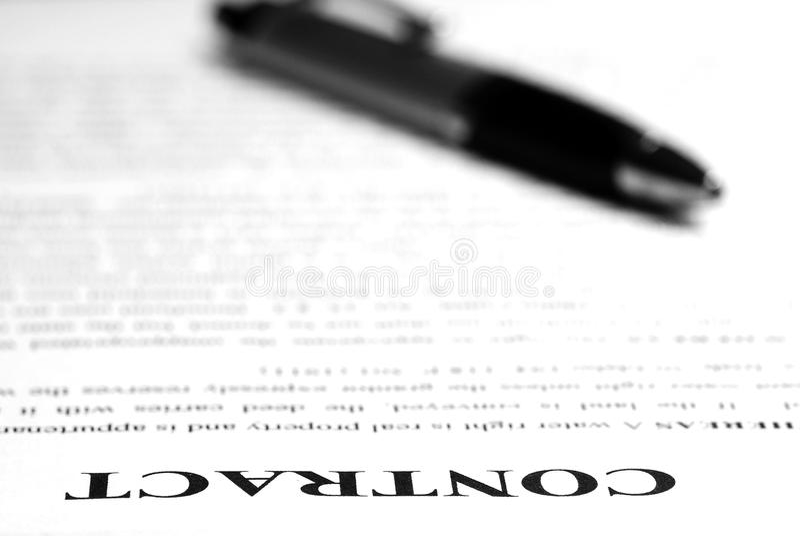 Contract op Bureau
