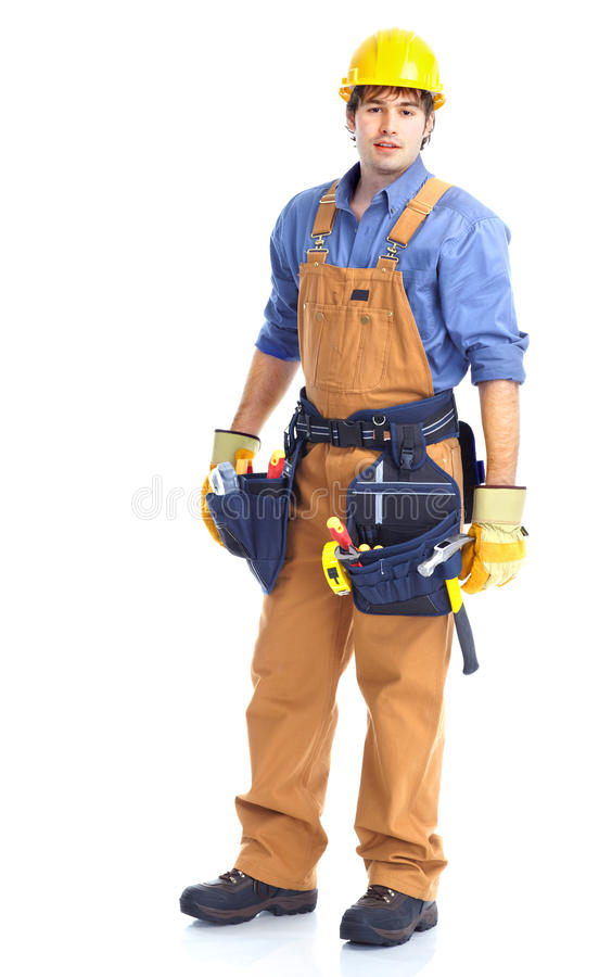 Download Contractor stock image. Image of occupation, install - 17327087