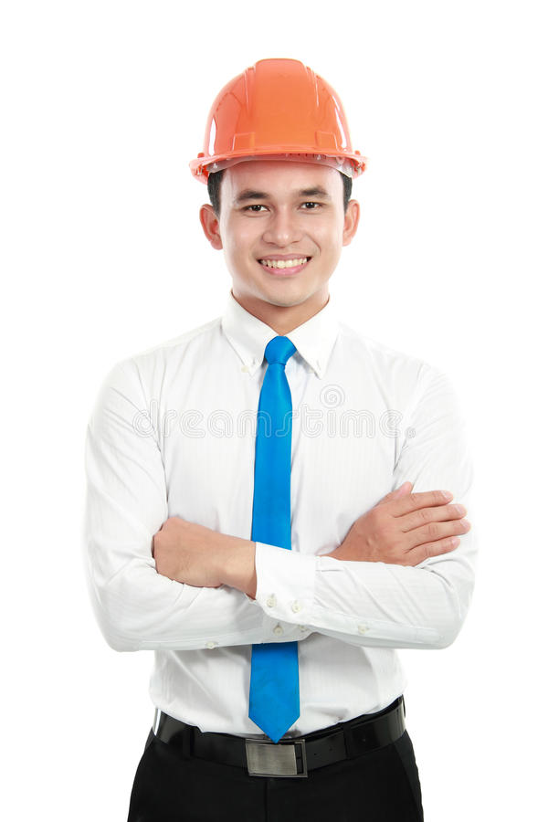 Download Contractor stock image. Image of hardhat, happy, male - 24237445