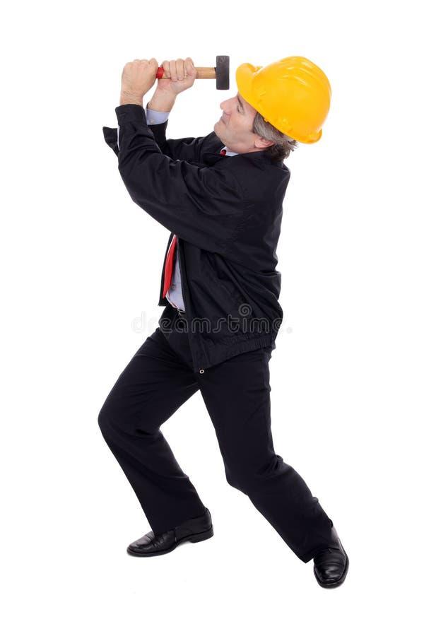 contractor hammer στοκ εικόνες με δικαίωμα ελεύθερης χρήσης