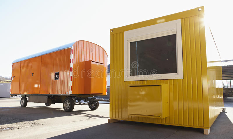 Contractor s shed