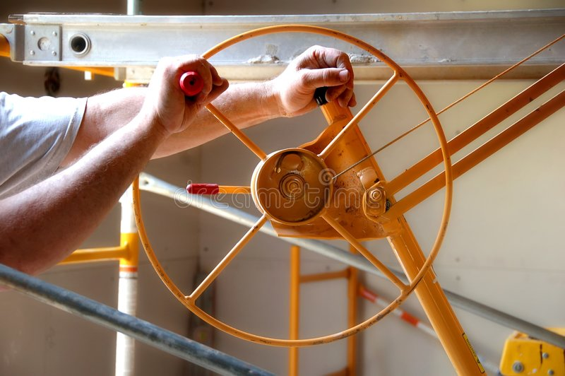 Download Contractor at Work stock image. Image of wheel, trade - 1078871