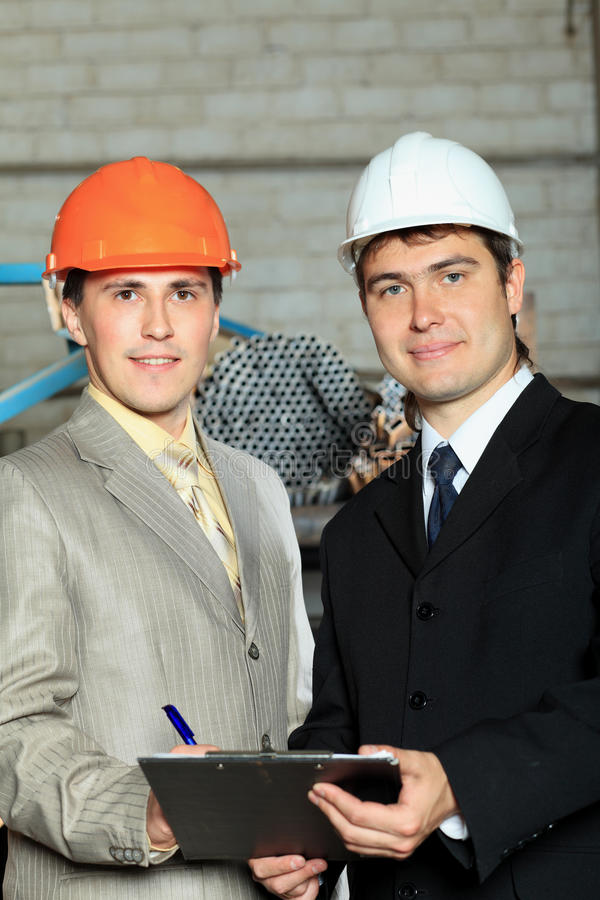 Contractors royalty free stock image