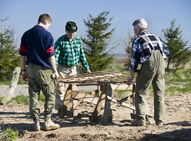 Download Contractors stock image. Image of frame, three, adult - 5024165