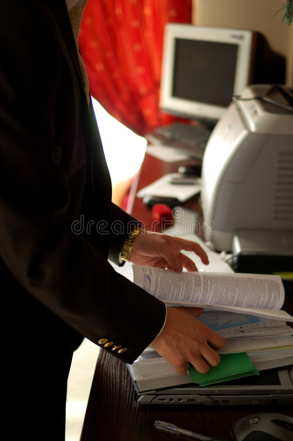 Contracts stock photo
