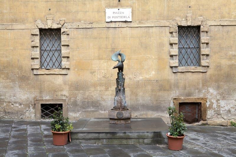 Contrade de Siena, Toscânia, Itália fotografia de stock