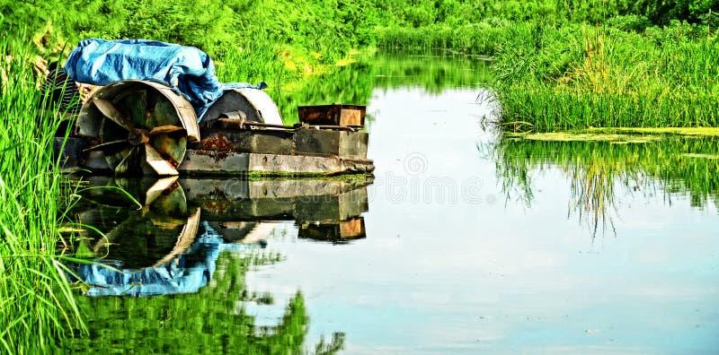contraption rzeka zdjęcie royalty free