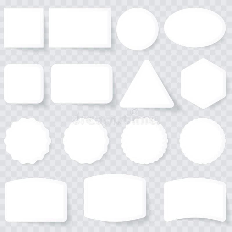 Contrassegni Di Bianco Immagini Stock