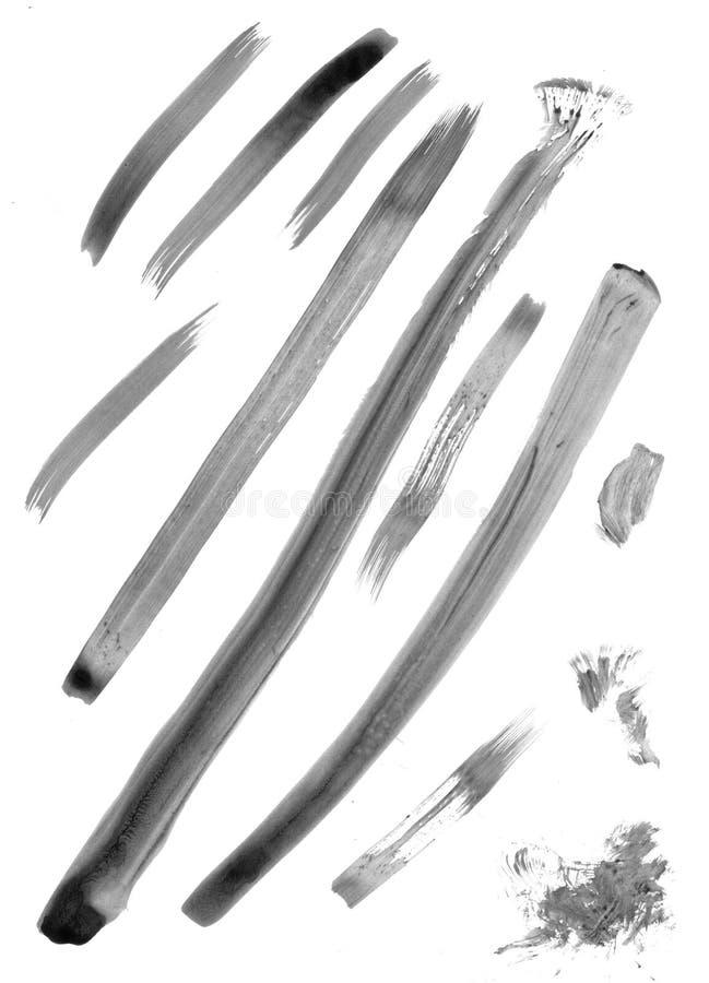 Contrassegno-fabbricazione del pennello illustrazione vettoriale