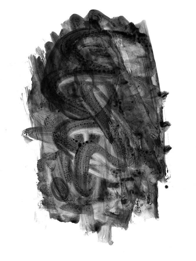 Contrassegno-fabbricazione del pennello illustrazione di stock