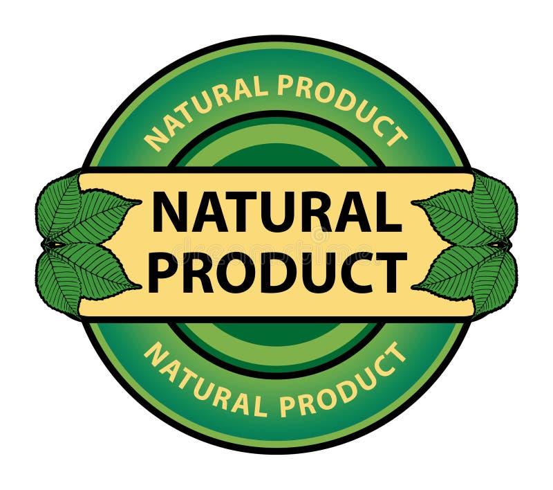 Contrassegno verde illustrazione di stock