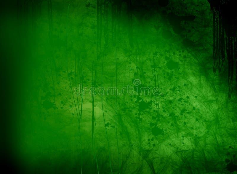 Contrassegno verde royalty illustrazione gratis