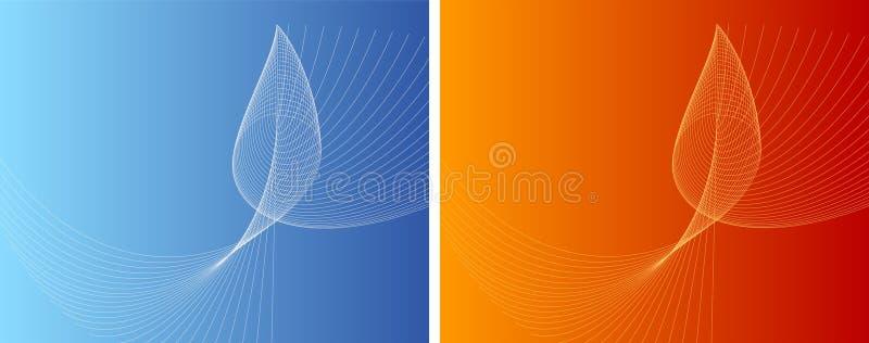 Contrast vector illustratie