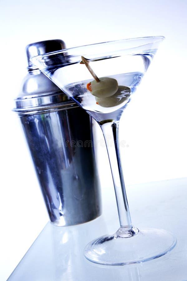 Contraste Martini photo stock