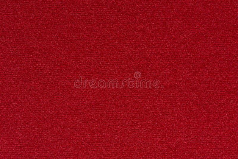 Contraste o fundo do tecido na cor vermelha espetacular fotos de stock