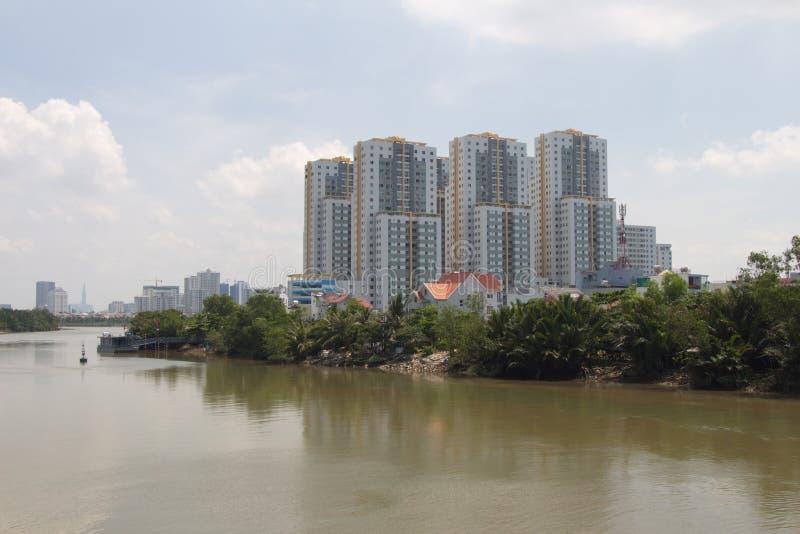 Contraste y desarrollo de Vietnam foto de archivo libre de regalías