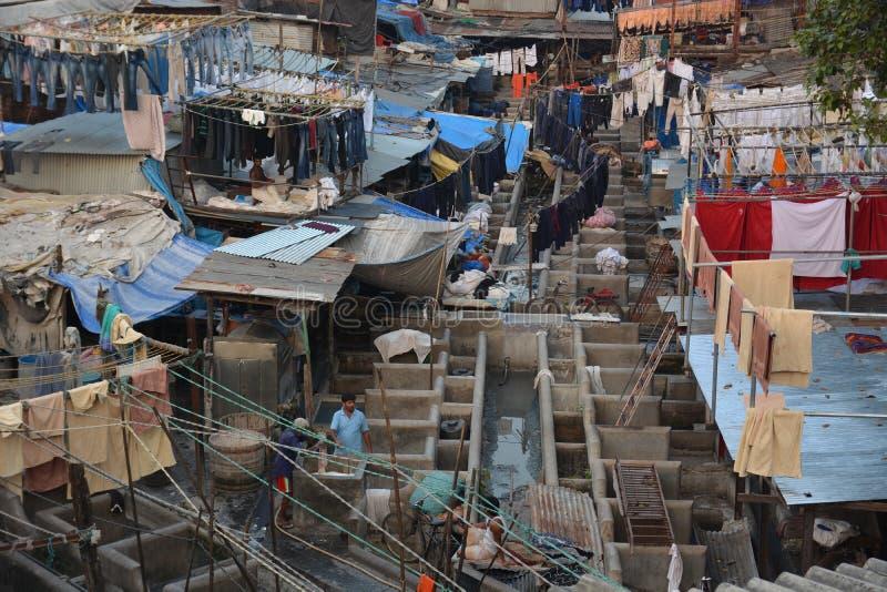 Contrastes de Mumbai photo stock