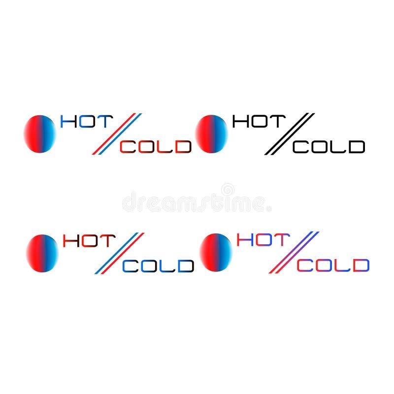 Contrasto delle temperature immagine stock libera da diritti