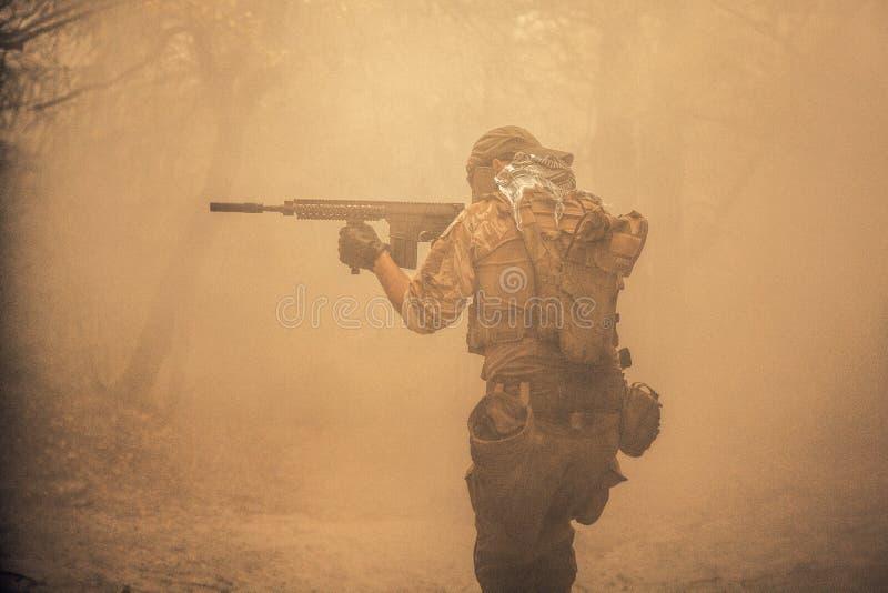 Contratante militar privado fotografia de stock royalty free