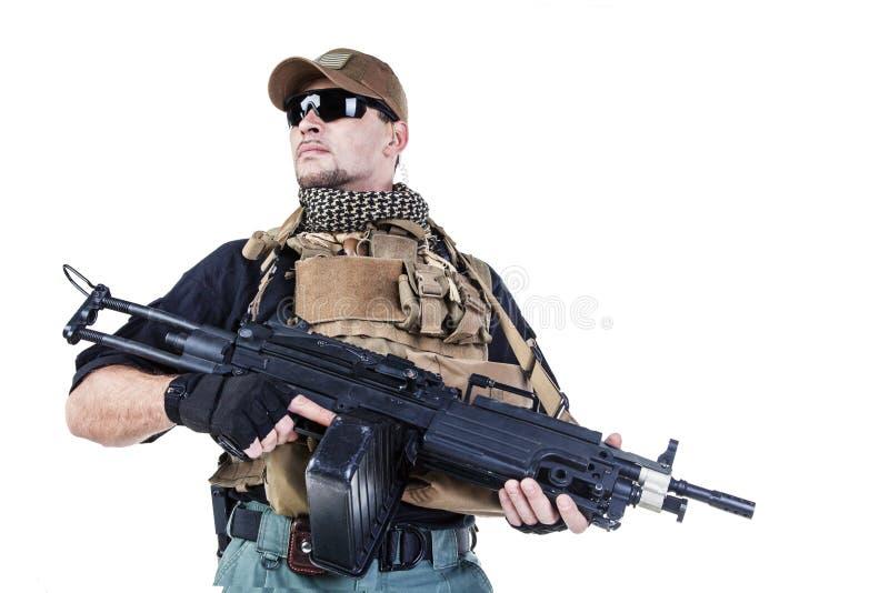 Contratante militar privado PMC fotografia de stock royalty free