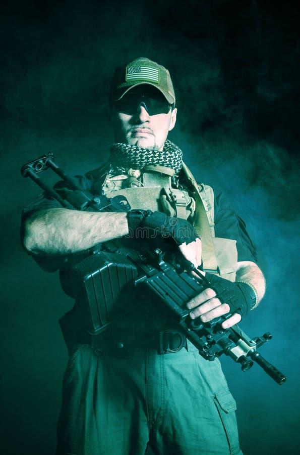 Contratante militar privado PMC fotos de stock royalty free