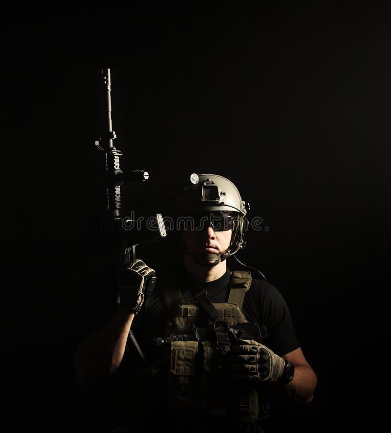 Contratante militar privado PMC imagem de stock
