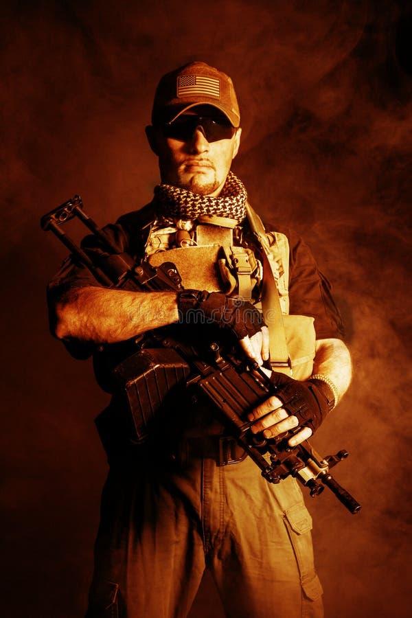 Contratante militar privado PMC fotos de stock