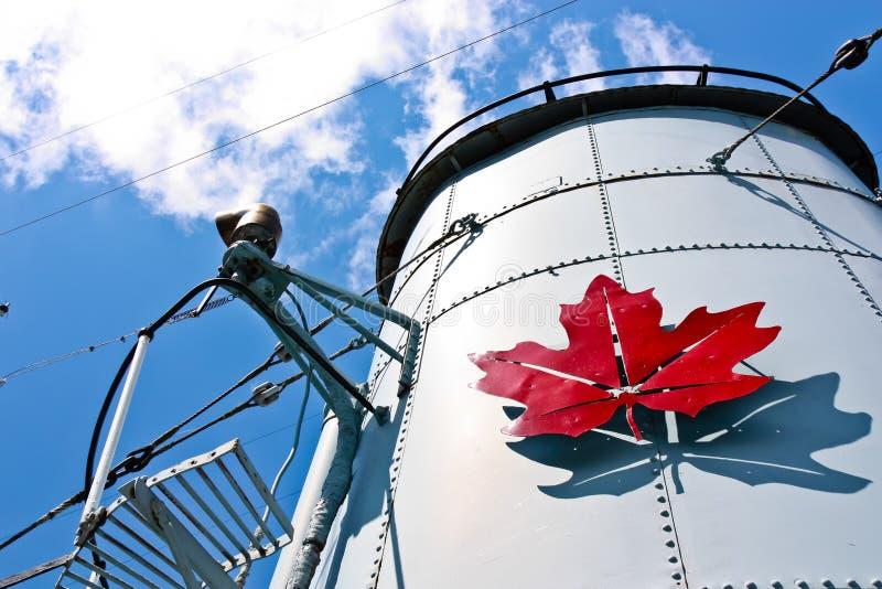 Contratorpedeiro canadense imagens de stock