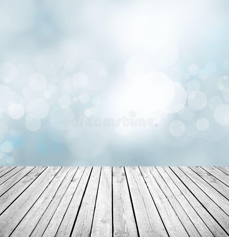 Contre- fond en bois vide photos stock