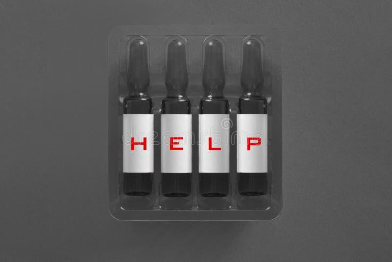Contribuisca a sopravvivere a dall'immagine medica di concetto della cura fotografia stock