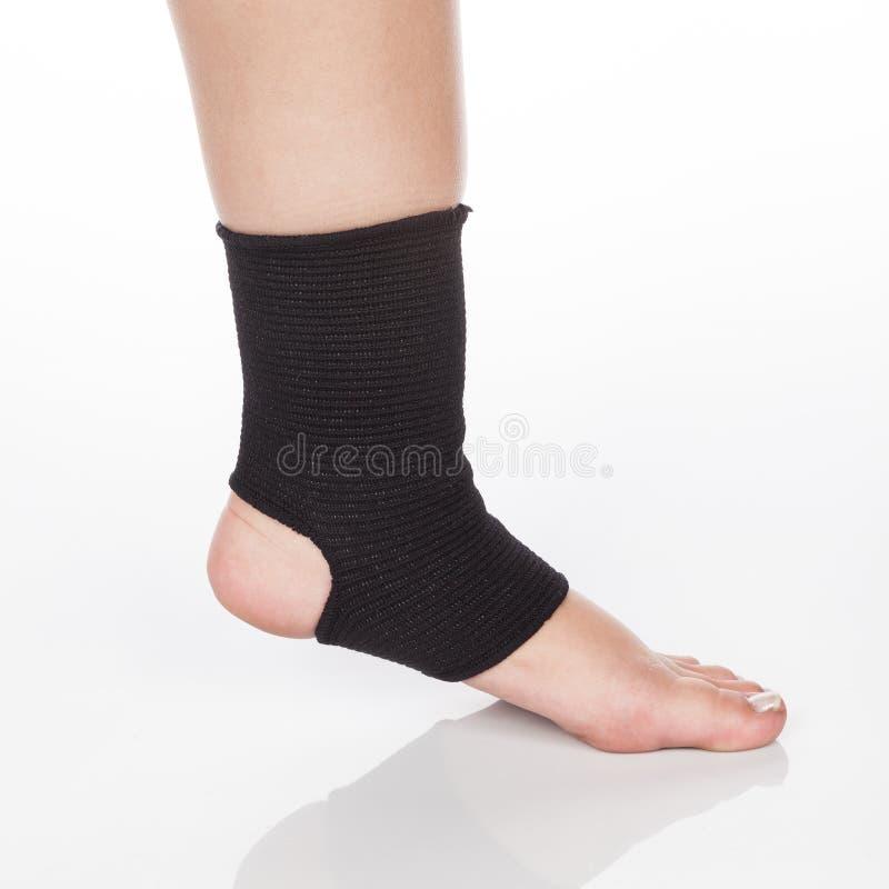 Contributo ortopedico alla caviglia fotografia stock libera da diritti