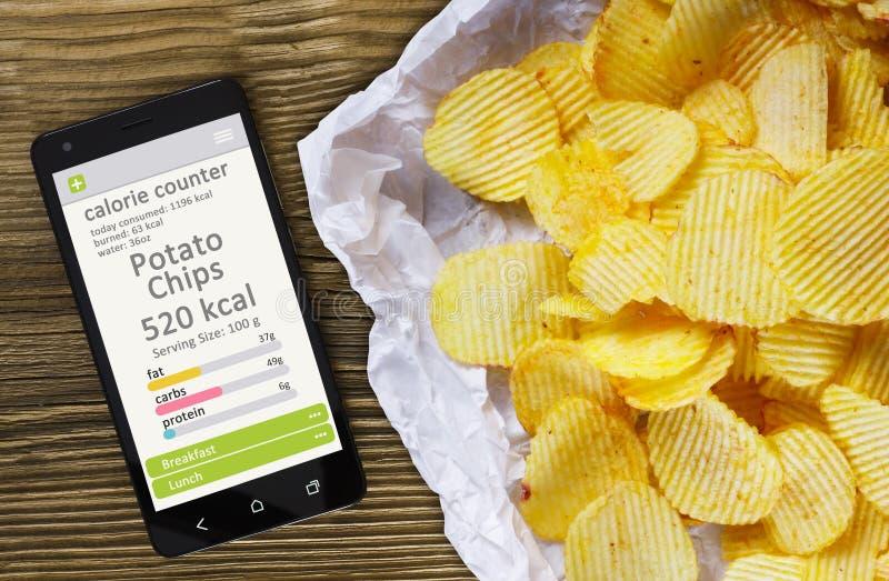 Contro concetto di caloria immagine stock. Immagine di..