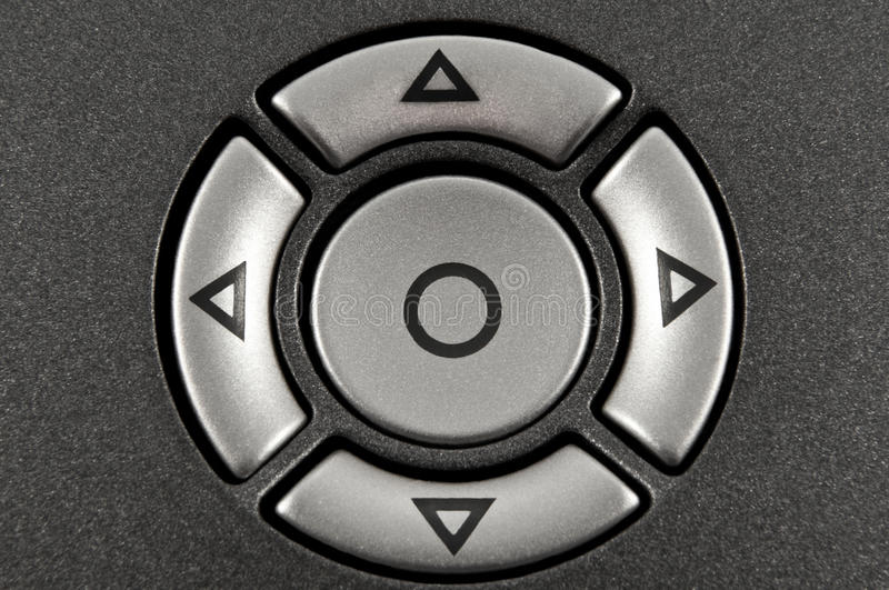 Control Buttons. Royalty Free Stock Image