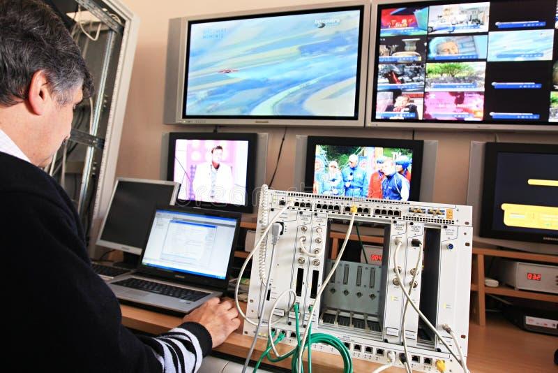 Control Center fotografía de archivo libre de regalías
