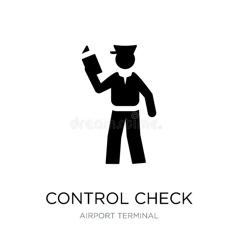 control check icon in trendy design style. control check icon isolated on white background. control check vector icon simple and royalty free illustration