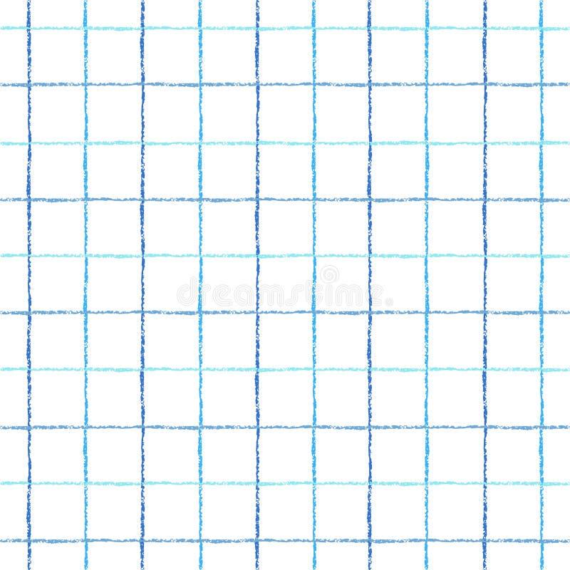 Control, cuadrado, modelo inconsútil colorido del vector de la tela escocesa libre illustration