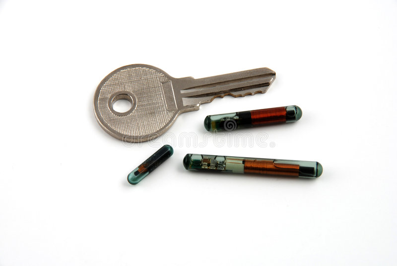 Control de acceso a través del rfid fotos de archivo libres de regalías